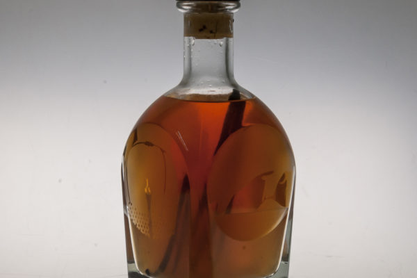 Erotics, engraved bottle