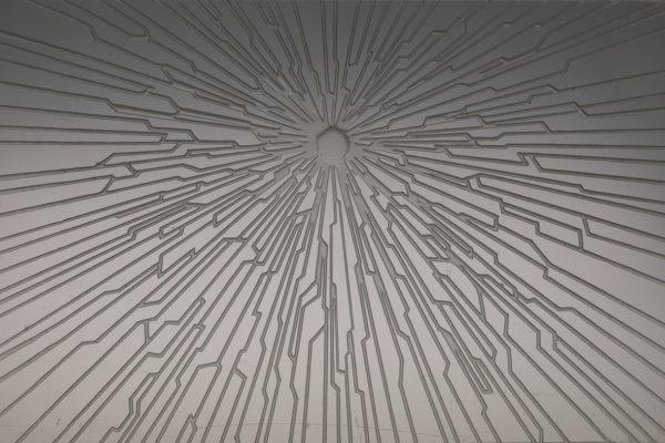 Akira, engraving